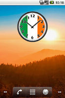Screenshot of Ireland Clock