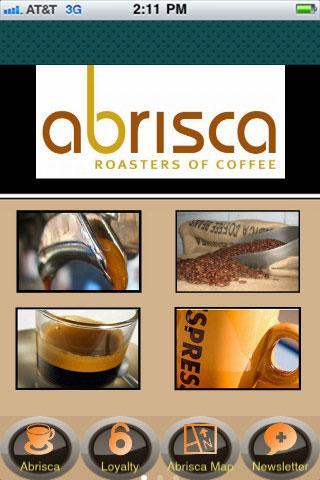 Abrisca Coffee Rewards