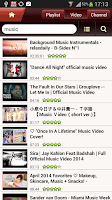 Screenshot of FREEdi YouTube Player Froyo