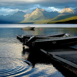 Lake McDonald by Mick Sullivan - Landscapes Mountains & Hills