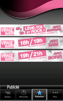 Screenshot of Virage Radio