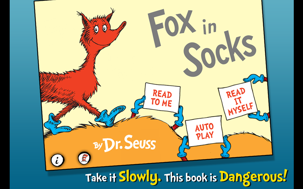 Fox in Socks - Dr. Seuss Screenshot 8