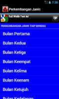 Screenshot of Perkembangan Janin Tiap Minggu