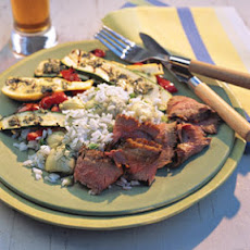 Garlic Flank Steak