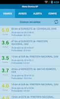 Screenshot of Alerta Sísmica DF