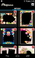 Screenshot of Birthday PhotoFrames