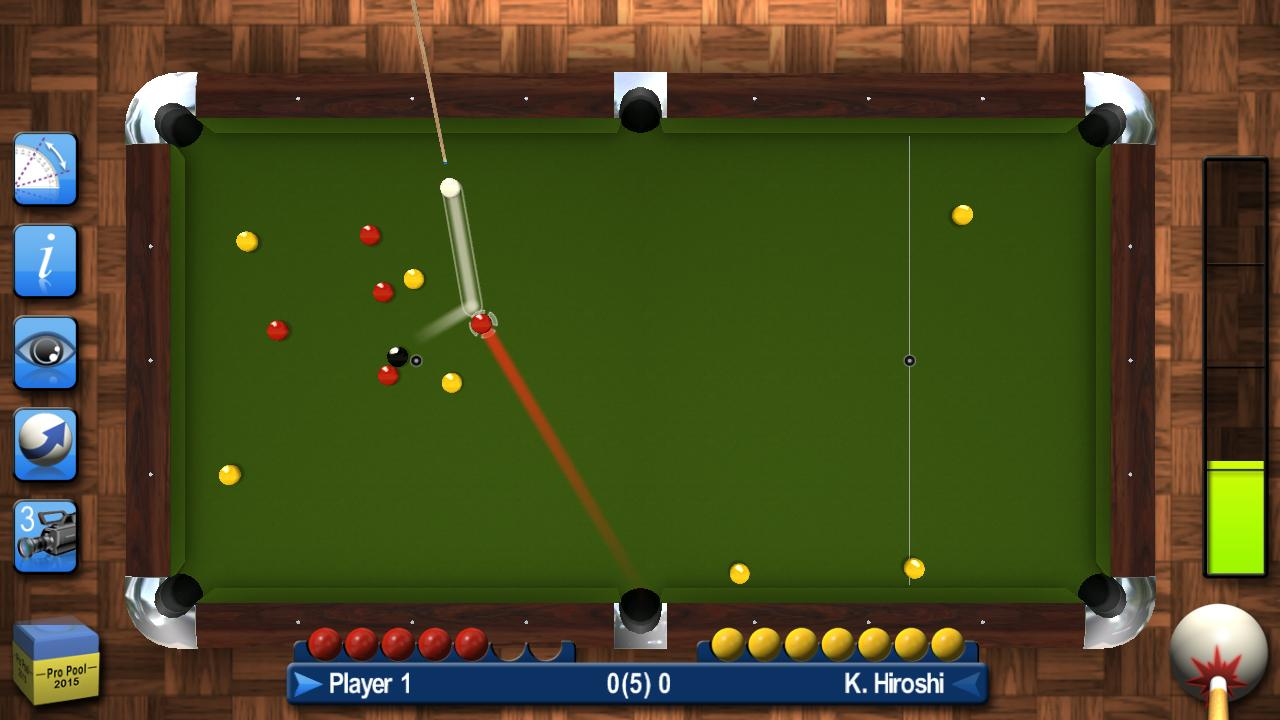 Pro Pool 2015 Screenshot 2