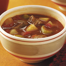 Beef and Sausage Soup