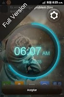Screenshot of wClock widget free