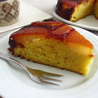 Caramelized Pear Cake