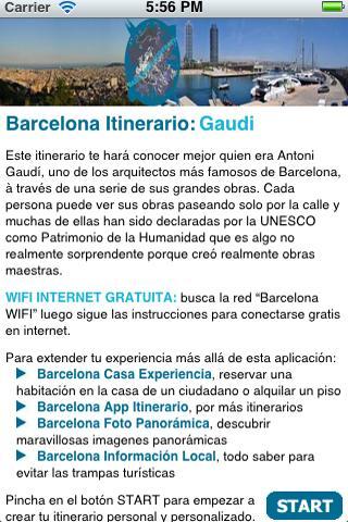 Barcelona Itinerario Gaudi