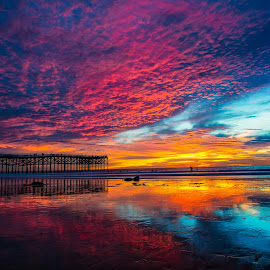 True Colors by Karina Irene - Landscapes Cloud Formations ( #cloudformations #sandiego, #sunset )