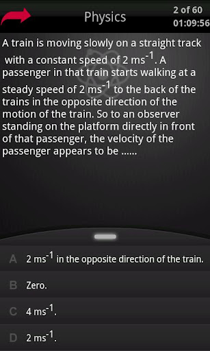 Physics CET K12 Mock Test 2