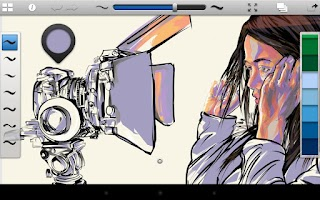 Screenshot of SketchBook Ink