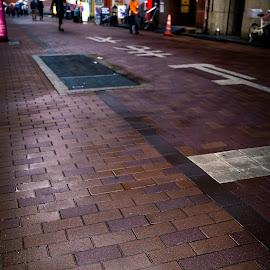 by Rico Laurel - City,  Street & Park  Street Scenes