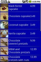 Screenshot of Mobile Road Warrior Invoice