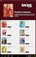 Screenshot of Revista Saúde Fortaleza