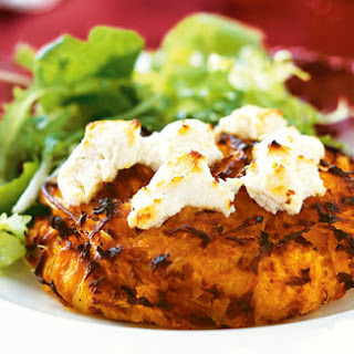 Sweet Potato Rosti with Goat's Cheese