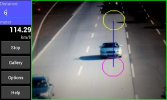Screenshot of Speed Radar Cam