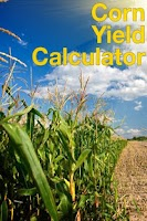Screenshot of Corn Yield Calculator