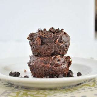 Healthy Flourless Chocolate Muffins