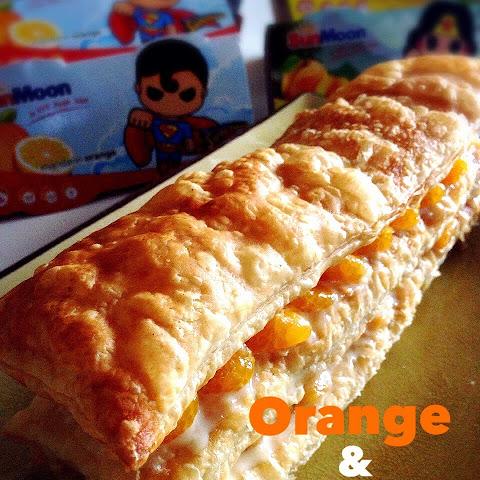 Quick & Easy Mandarin Orange Peach Strudel