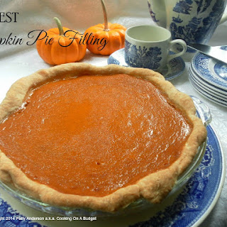 The BEST Pumpkin Pie Filling