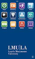 Screenshot of iLMU