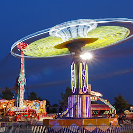 Spinner by Ajit Pillai - City,  Street & Park  Amusement Parks ( rides, park, delta, night, fair,  )
