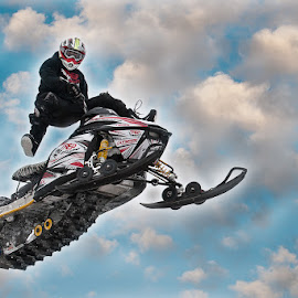 by Arnaldo Ronca - Sports & Fitness Motorsports ( winter, aerial, snow mobile, acrobatic )