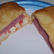 Ham & Swiss Oven Toasted Deli Sandwich