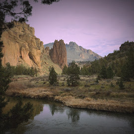 Smith Rock by Clint Melsha - Landscapes Mountains & Hills