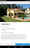 Screenshot of Fotocasa rent and sale