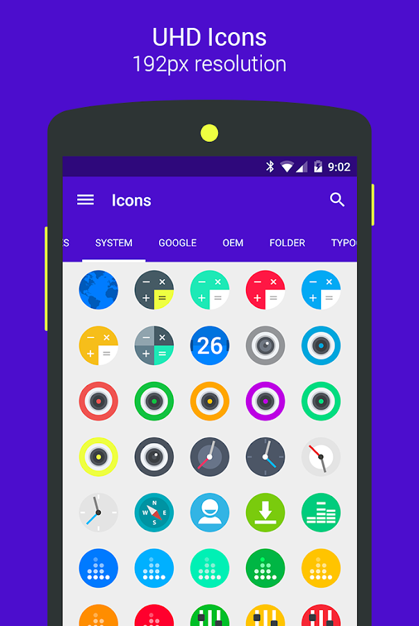 Goolors Circle - icon pack Screenshot 10