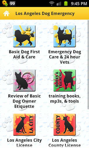 Los Angeles Dog Emergency Tips