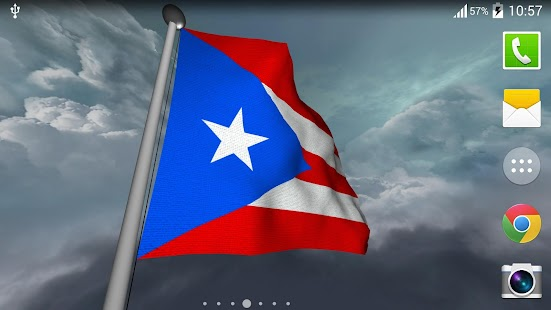 Puerto Rico Flag - LWP - screenshot