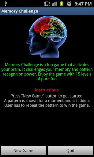 Challenge Your Memory