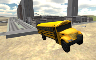 Screenshot of School Bus Driving 3D
