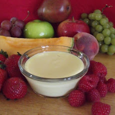 Sweet Lemon Fruit Dip