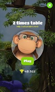 Juego 10monkeys Multiplication APK para Tablet gratuita