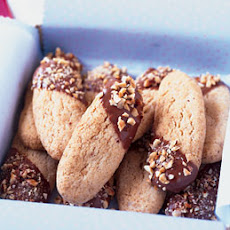 Hazelnut Shortbread Sticks