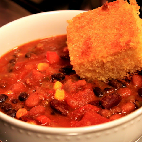 The Best Ever Power Packed Vegetarian Chili