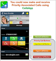 Screenshot of CallzApp