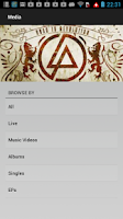 Screenshot of Linkin Park