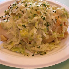 Chicken With Leeks and Cream