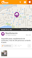 Screenshot of Oincs - Tránsito y seguridad