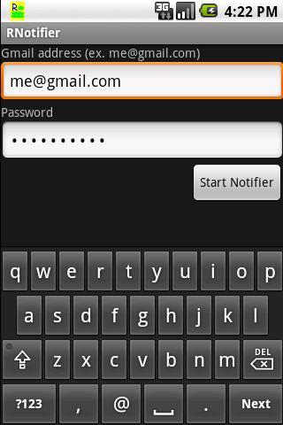 Google RSS Reader Notifier