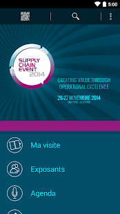 Supply Chain Event - screenshot