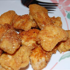Mexican Cornmeal Chicken Nuggets