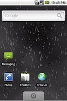 Screenshot of Rain Live Wallpaper Demo